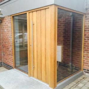 Danish JeTrae Entrance Door Installation